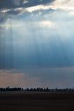 Solar fields Belarus. Stock Photography