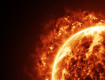 Solar fire Royalty Free Stock Photography