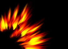 Solar Flames Royalty Free Stock Image