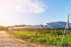 Solar fram Stock Photography