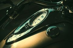 Solar glare on the dashboard. Stock Images