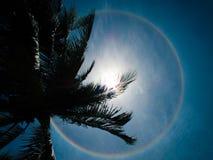 Circumhorizontal arc, circular rainbow Stock Photography