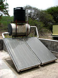 Solar Heater Royalty Free Stock Photos