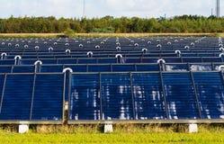 Solar heating plant Royalty Free Stock Photography
