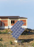 Solar home Royalty Free Stock Photography