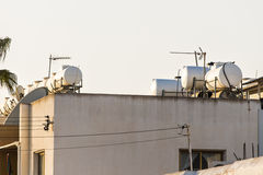 Solar Hot Water System. Stock Photography