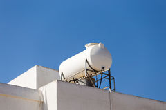 Solar Hot Water System. Royalty Free Stock Images