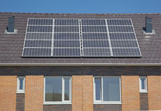 Solar House Royalty Free Stock Images