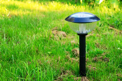 Solar lamp Royalty Free Stock Photography