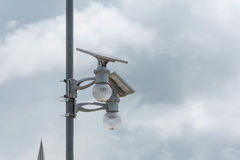 Solar lamp Stock Photo