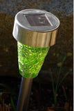 Solar lamp garden Stock Photo
