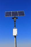 Solar lamp pole Royalty Free Stock Image