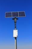 Solar lamp pole Royalty Free Stock Image