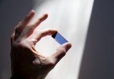 Solar lasque dentro o feixe do sol Imagens de Stock Royalty Free
