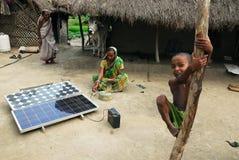 Solar light at Sundarban. Royalty Free Stock Photography