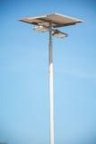 Solar Lighting and Pillar spotlights high on the sky Royalty Free Stock Photography