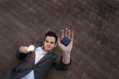 Solar Man Stock Photos
