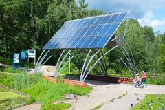 Solar Minipower Royalty Free Stock Photos