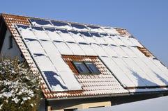 Solar modules Stock Images