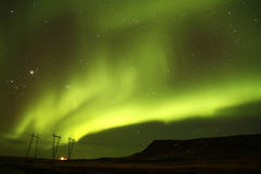 Solar Night Sky Stock Image
