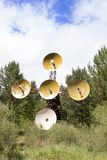 Solar- Observatorium in Ost-Sibirien Lizenzfreies Stockfoto