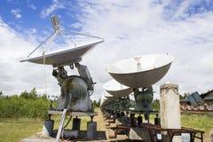 Solar- Observatorium in Ost-Sibirien Lizenzfreies Stockbild
