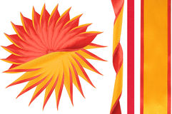 Solar ornament. Royalty Free Stock Photography