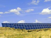Solar-painéis 01 Fotografia de Stock