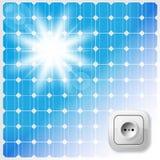 Solar Pane Stock Photo