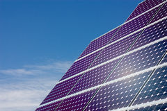 Solar panel. S to produce clean energy Stock Photography