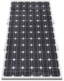 Solar panel. Solar photovoltaic cell isolated with clipping path Royalty Free Stock Photos