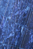Solar panel. Detail of a blue solar panel. Suitable for background Stock Photos