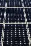 Solar panel. Some photovoltaic boards in an Energy generation station Stock Photography