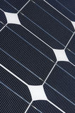 Solar panel. Some photovoltaic boards in an Energy generation station Stock Photo
