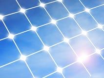 Solar panel. Below blue sky Stock Photography