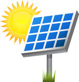 Solar Panel. An image of a solar panel Royalty Free Stock Photos
