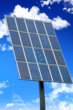 Solar Panel. A solar panel with a blue sky Royalty Free Stock Images
