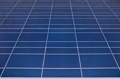 Solar panel. Green energy from sun stock photo