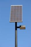Solar Panel. A solar panel against the blue sky Stock Photo