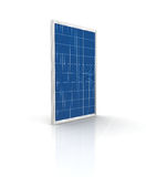 Solar panel. On a white background. Green energy from the sun Stock Images
