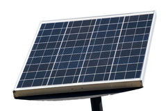Solar panel. On white background Royalty Free Stock Photos