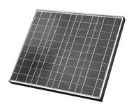 Solar panel. Isolated on white Stock Images