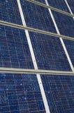 The Solar Panel. Closeup view of solar panels Royalty Free Stock Photo