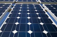 The Solar Panel. Closeup view of solar panels Stock Photo