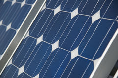 The Solar Panel Royalty Free Stock Photos
