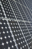 The Solar Panel. Closeup view of solar panels Royalty Free Stock Photography