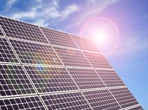 A solar panel royalty free stock image