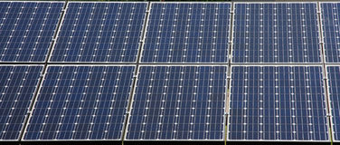 Solar panel. Detailed background of solar panel Stock Images