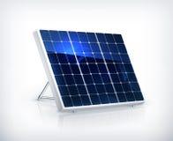 Solar panel. Computer illustration on white background Royalty Free Stock Photography