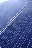 Solar panel. Closeup view of solar panels. alternative energy Stock Image
